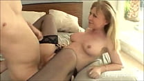 Aunt catches nephew jerking off-Feistytube.com