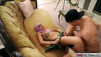 6429 Arab babe sucks on dick and gets fucked preview