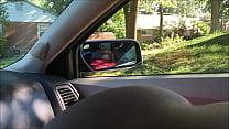 Round Ass Bitch Sucking Dick in Car video