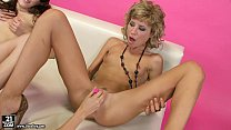Lesbian Threesome with Sophie Moone, Ioana and Amirah Adara (sarithanair hot photos) thumbnail