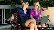 (Natalia Starr & Alli Rae) Lez Horny Girls Make Action Sex Scene movie-23