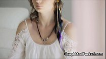 Voyeur catches nude Yogist teen Preview