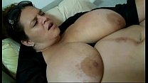 13503 Chubby mom wife Mona Mounds getting husband preview