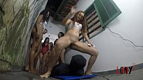 Lucky Bitch 2 Seven nasty brazilian girls facesitting, pissing, trampling - by LonY Fetiches