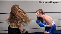 Catfight Boxing Strip  Match [트럭섹스 box truck]
