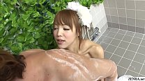 Uncensored JAV soapland body washing foreplay Subtitled Vorschaubild
