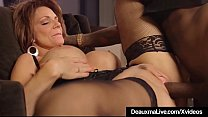 Hot Mature Cougar Deauxma Gets Drilled By A Big...'s Thumb