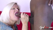 AgedLovE Lacey Starr and Black Guy Hardcore video