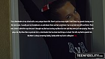 TEENFIDELITY Cute Cheerleader Liza Rowe Shakes Her Pom Poms [치어리더 Cheerleader]