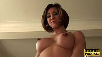 Busty euro cunt roughly trashed by maledom Preview