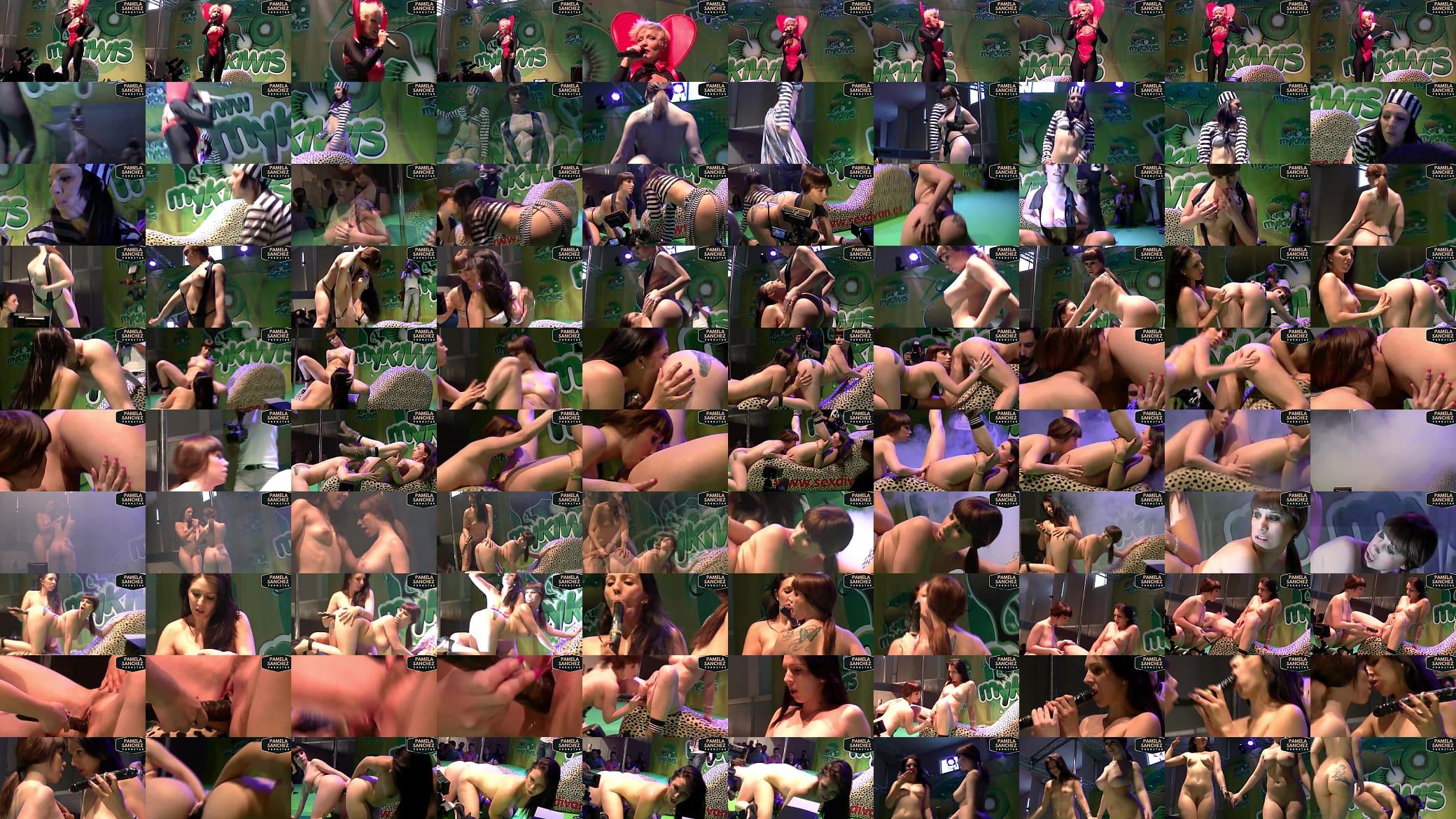 Mykiwis Porno Show pamela sánchez y brenda boop en el salón de murcia 2014