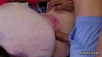 Frisky teen is brought in ass hole assylum for painful treatment