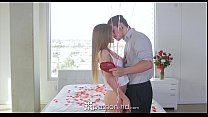 Passion-HD - Sydney Cole gets super sexy massage for Valentine's Day video