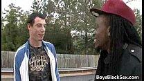 Black Dude Fuck Gay White Boy Hardcore Style 04