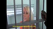 Prisoned Teen Sucks Big Black