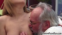 19yo skank gets plowed doggystyle preview image