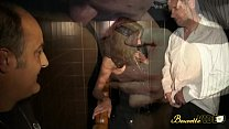 Agnès baisée en trio dans un sex shop Preview
