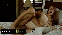 Step Dad Always Wanna Fuck His Smoking Hot Step Daughter (Jillian Janson) - Family Sinners