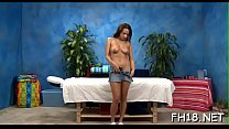 Hawt 18 year old gal gets fucked hard by her massage therapist