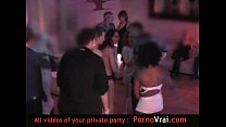 Spy cam french private party! Camera espion Par...