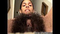 Hairy Latina Teen's Thumb