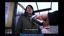 PublicAgent Jana fucks in the car for money