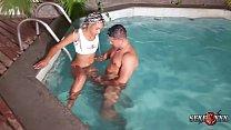 Trailler - A mulata Aniaty Barboza gozou no pau do Ed Junior dentro da piscina صورة