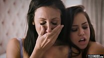 Hot vindictive teen chick fucks stepmom BF just... Thumbnail
