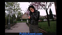 PublicAgent Krystina bends over for a wallet full of cash - 9Club.Top