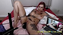 Tattoo Pornstar Goddess on Cam