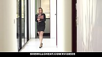 SHEWILLCHEAT - Horny Real Estate Agent Fucks BBC's Thumb
