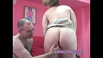Blonde Veronica sucking an old dudes stiff cock video