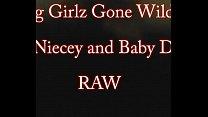Big  Girlz gone Wild Nasty Niecey and baby Daddy