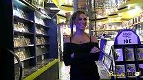 Visite au sex-shop qui finie en bukkake avec Sheryl Riviera Preview