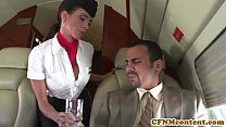 Aimee Addison joins the mile high club