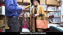 ShopLyfter - Granddaughter And Grandmother Duo Fuck LP Officer After Getting Cau thumbnail