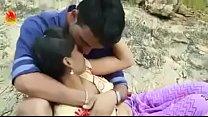 Hot Desi Couple Boob Pressing