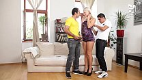 Mexicans double penetrate czech hottie teen!! A...