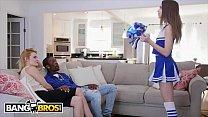 BANGBROS - Cheerleader Riley Reid Rides Her Mom... Thumbnail