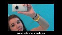 Download video bokep Nude emo Becka solo cellphone video 3gp terbaru