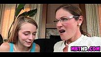Mother teaches daughter sex  2  003