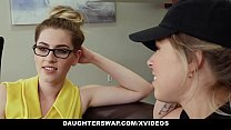 daughterswap - Sexy Babes Fuck Dad For Some Cash thumbnail