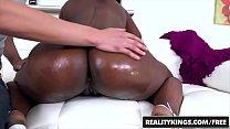 RealityKings - Round and Brown - (Ebony Sonny Nash) - Licking Ebony