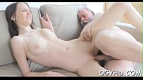 Old chap fucks young juicy pussy pornhub video