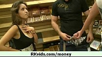 Girl getting cash for some love 13