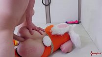 Submissive blonde bunny girls gets her asshole punished thumbnail
