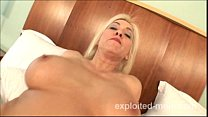 Amateur blonde mature milf gets pounded by black cock in Interracial Video Vorschaubild