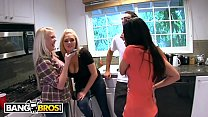 BANGBROS - Random Orgy With Allie Jordan, Angel Vain & Katie Kox thumbnail
