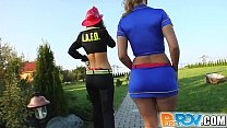 Pure Pov These costumed babes and I get to fucking hard pornhub video