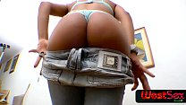Latin ebony fucks in the ass like nobody - - Ma...